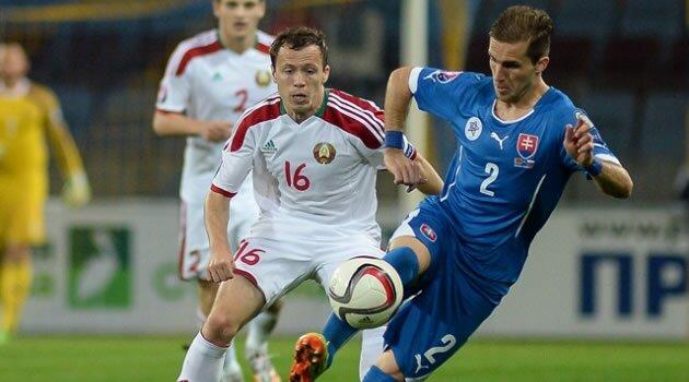 Belarus-Slovacia, preliminarii Euro 2016