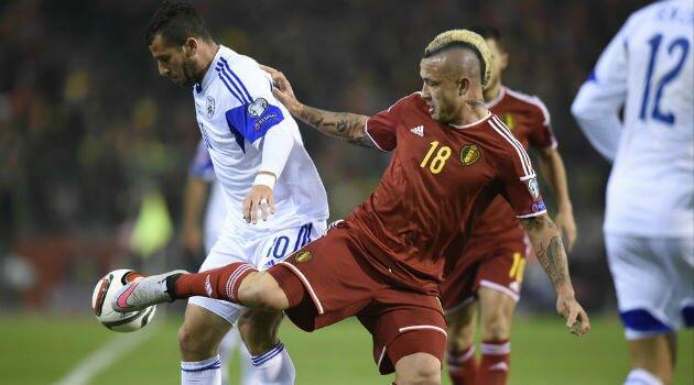 Belgia va ocupa locul 1 în clasamentul FIFA după 3-1 cu Israel