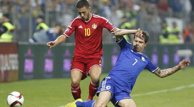 Bosnia-Belgia, preliminarii Euro 2016