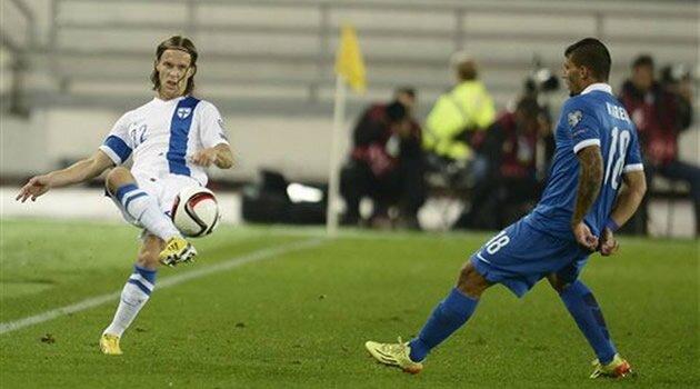 Finlanda-Grecia, preliminarii Euro 2016