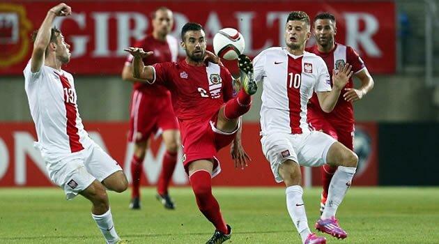 Gibraltar-Polonia, preliminarii Euro 2016