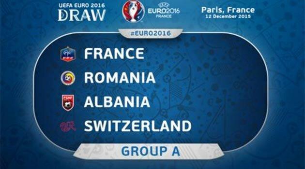 EURO 2016, Grupa A