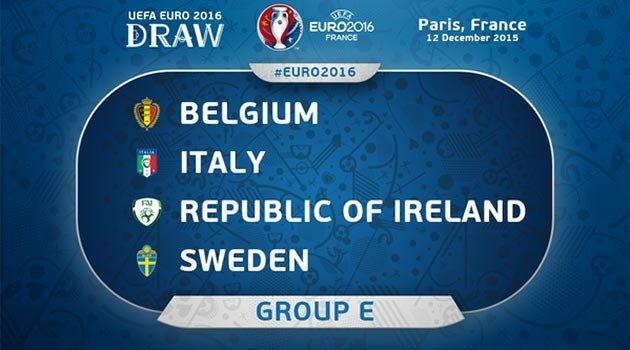 EURO 2016, Grupa E