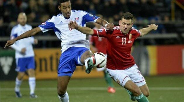 Insulele Feroe-Ungaria, preliminarii Euro 2016
