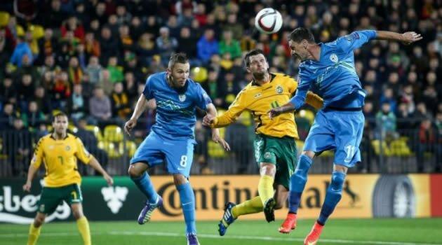 Lituania-Slovenia, preliminarii Euro 2016