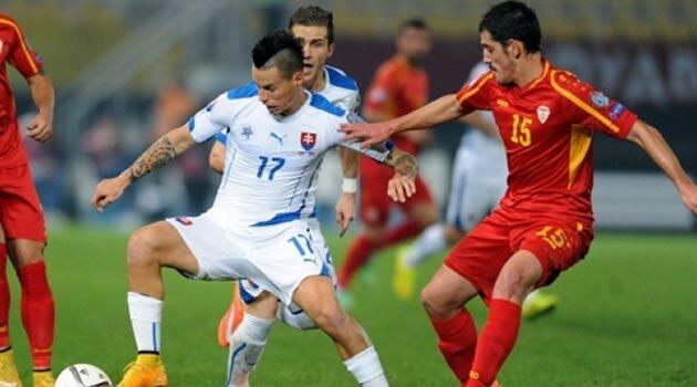Macedonia - Slovacia, preliminarii EURO 2016
