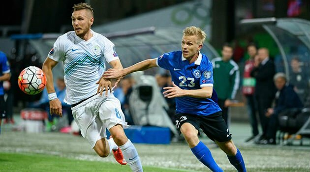 Slovenia - Estonia 1-0
