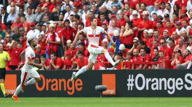 Elveţia a învins Albania în Grupa A la EURO 2016