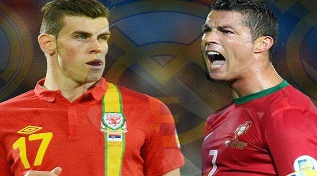 Gareth Bale şi Cristiano Ronaldo