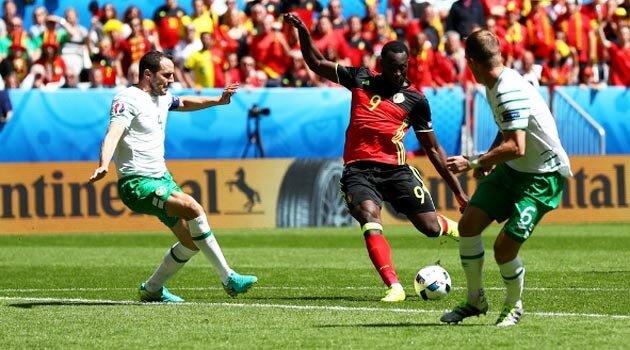 Lukaku a reuşit o dublă în Belgia - Irlanda