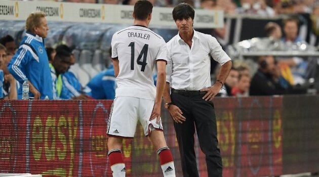 Julian Draxler, Joachim Low (Germania)