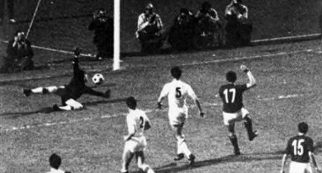 Riva înscrie pentru Italia în rejucarea finalei Euro 1968