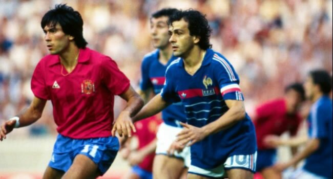 Platini a fost eroul Franţei la Euro 1984