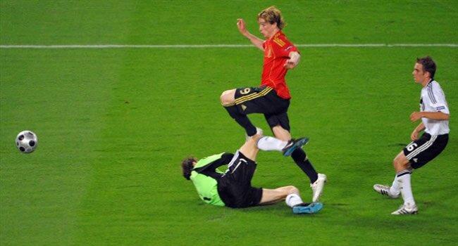 Torres înscrie unicul gol al finalei Euro 2008