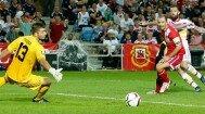 Steven Fletcher a reuşit un hattrick în meciul cu Gibraltar