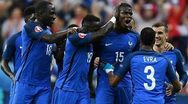Franţa - Islanda 5-2