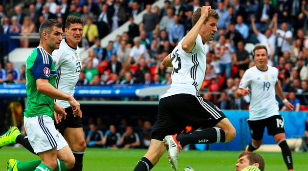 Irlanda de Nord - Germania 0-1