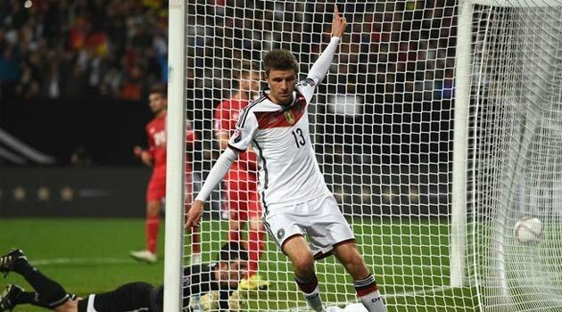 Thomas Muller a reuşit o dublă în meciul Germania - Gibraltar 4-0