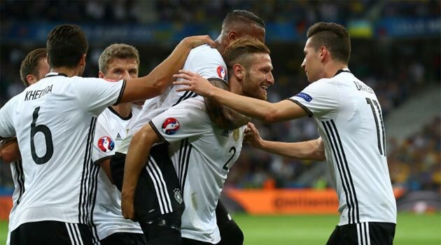 Germania a bătut Ucraina cu 2-0 în Grupa C de la EURO 2016