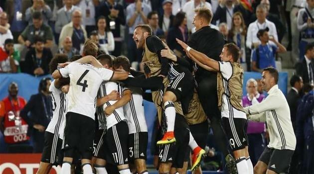 Germania a învins Italia la loviturile de departajare în sferturile EURO 2016