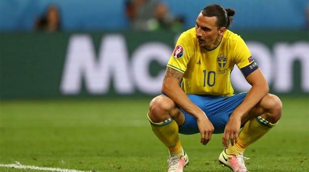 Zlatan Ibrahimovic, la ultimul meci pentru Suedia