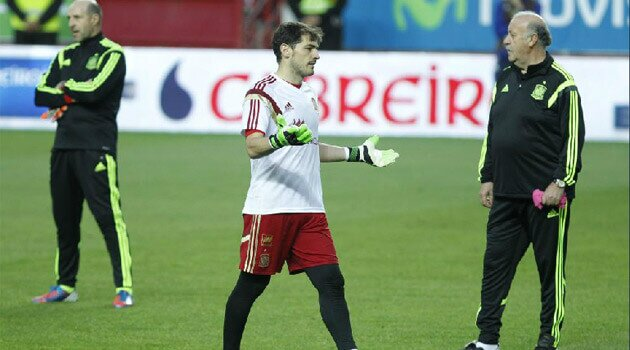 Iker Casillas, la al cincilea European