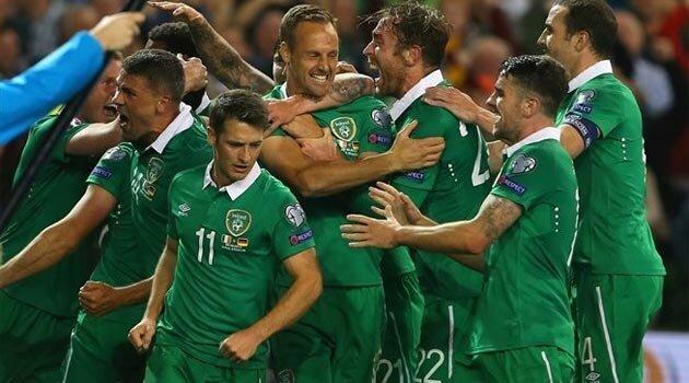 Irlanda a obţinut o victorie istorică în faţa Germaniei şi speră la calificarea la EURO 2016