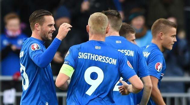 Islanda a condus Letonia cu 2-0 dar s-a văzut egalată după pauză