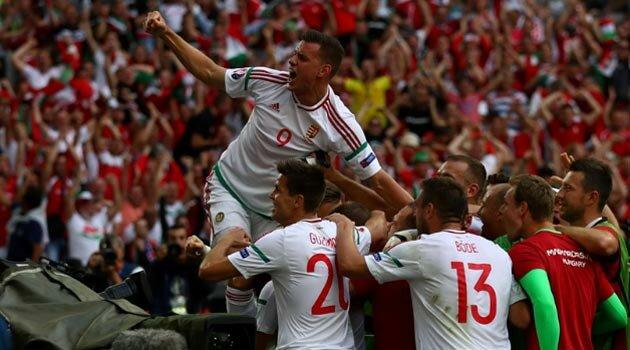 Ungaria a obţinut pe final un egal cu Islanda, 1-1