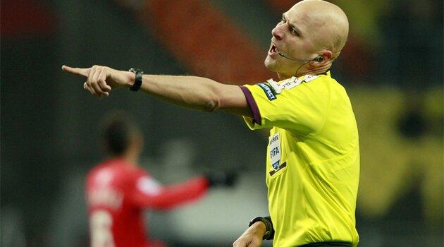 Serghei Karasev, arbitrul meciului România - Elveţia