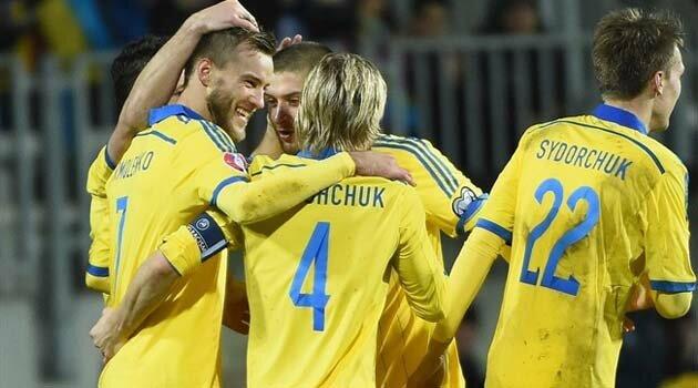 Ucraina s-a impus fără emoţii în Luxemburg, scor 3-0