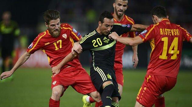 Spania s-a impus în Macedonia şi este aproape de EURO 2016