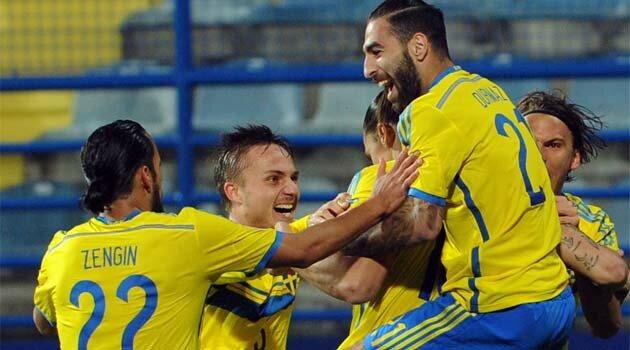 Suedia s-a întors cu un punct din Muntenegru, scor 1-1