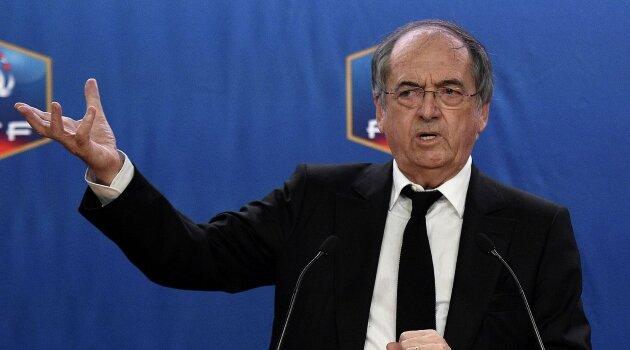 Preşedintele Federaţiei Franceze de Fotbal, Noel Le Graet