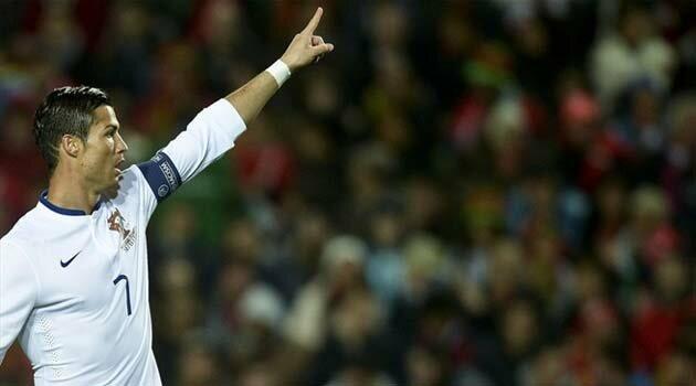 Cristiano Ronaldo a marcat unicul gol al meciului Portugalia - Armenia 1-0