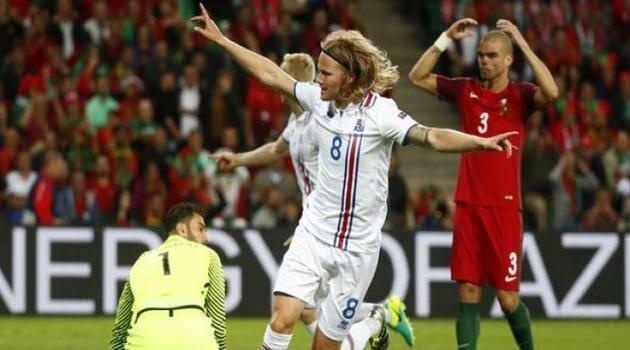 Islanda a scos un egal cu Portugalia în Grupa F de la EURO 2016