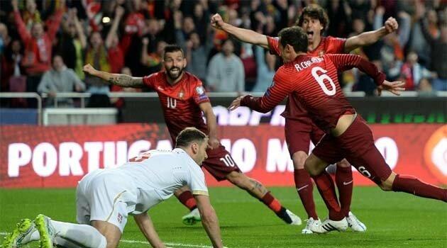 Portugalia a învins Serbia cu 2-1 în preliminariile EURO 2016