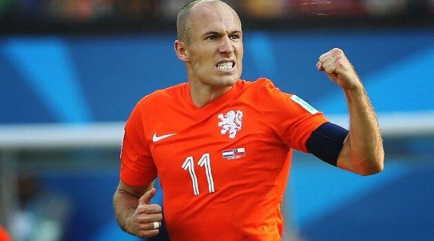 Arjen Robben, Olanda
