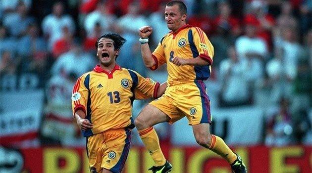 România a învins Anglia cu 3-2 la EURO 2000