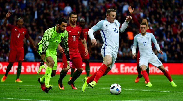Wayne Rooney, Anglia