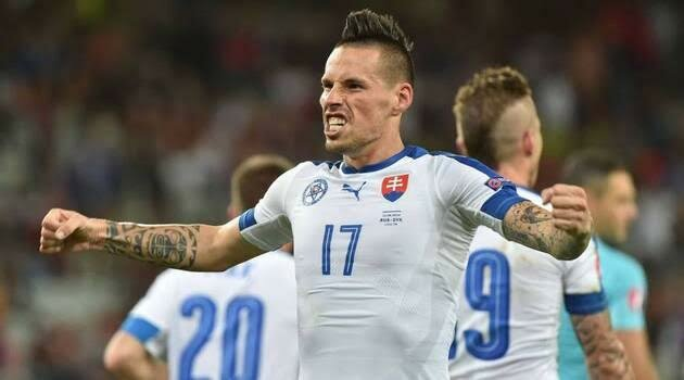 Slovacia a învins Rusia cu 2-1 la EURO 2016