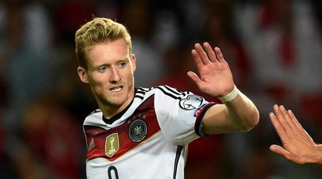 André Schürrle a reuşit un hattrick în meciul Gibraltar - Germania 0-7