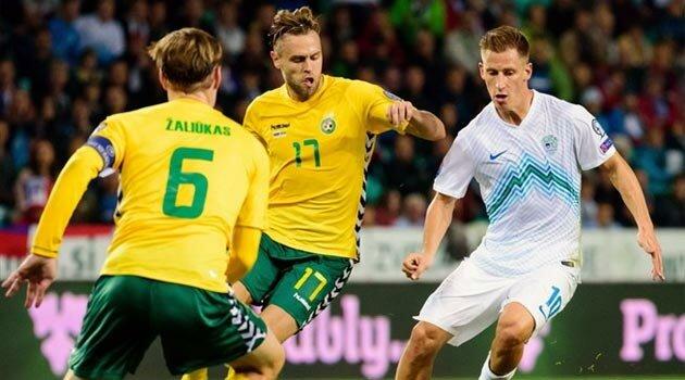 Slovenia şi Lituania au remizat, scor 1-1