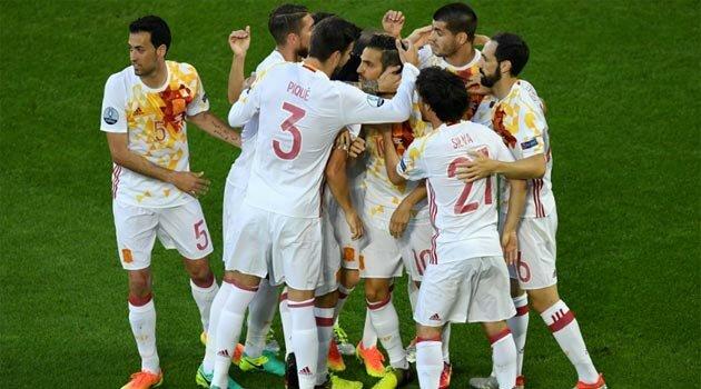 Spania, în meciul cu Croaţia