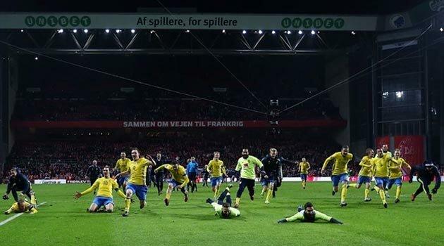 Suedia sărbătoreşte calificarea la EURO 2016
