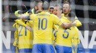 Suedia a câştigat cu 2-1 prima manşă a barajului cu Danemarca