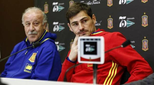 Vicente del Bosque, Iker Casillas (Spania)